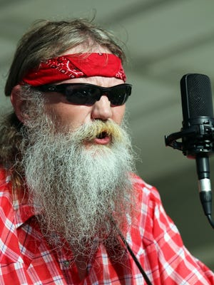 Jeff Blanchard of Mr. Baber's Neighbors: The Solar String Band during the free Beaverdale Bluegrass Festival at Tower Park (4900 Hickman Road) in Des Moines. Blanchard. 47, died April 5.