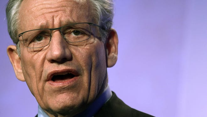 Bob Woodward, associate editor at The Washington Post, speaks during the annual conference of the National Association of Counties, March 4, 2013 at the Washington Hilton Hotel in Washington, D.C.