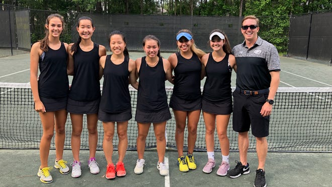 Chiles' girls tennis team advanced to the state tournament for the third year in a row after beating Gulf Breeze 4-0 on Thursday in a Region 1-3A final.