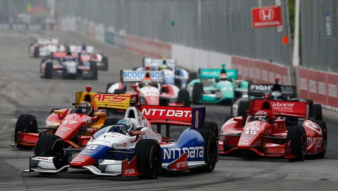 IndyCar race in Toronto earlier this year.