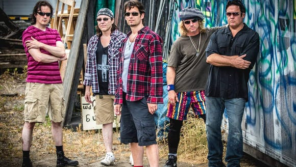 Pearl Jam tribute band Washed in Black play the Suquamish