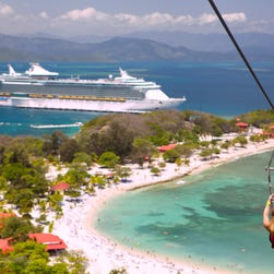 5 georgous private islands you can visit by cruise ship
