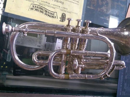 Someone stole 15 trumpets from a Salinas storage unit. Police have recovered five and are seeking the remaining stolen ones.