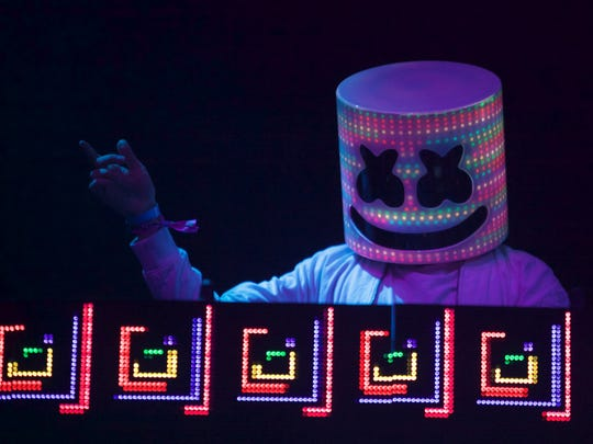 EDM artist Marshmello will be one of the headliners