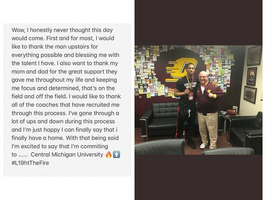 Central Michigan wanted Dequan Finn bad. And the Chippewas