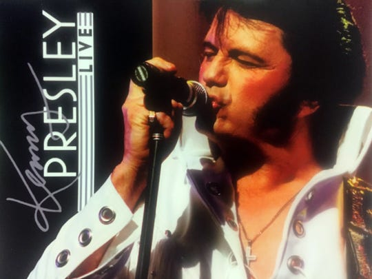 Kenny Presley will perform his Elvis tribute on May 13 at the Preston Fine Arts Center.