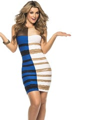 """The """"What is the Color?"""" dress on Yandy.com."""