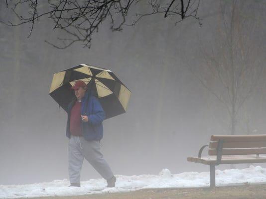 Fog and Rain Weather