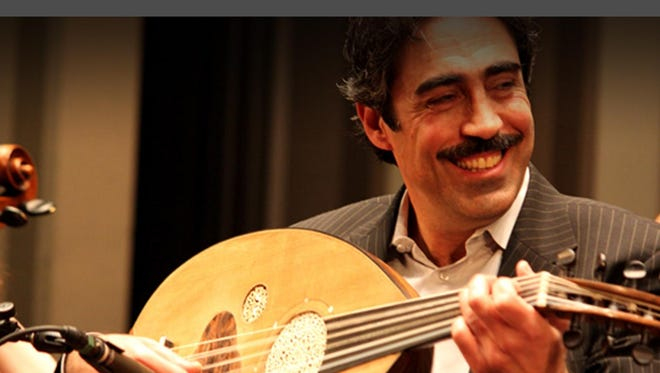 "Simon Shaheen performs in ""Zafir"" on Friday at Cornell's Bailey Hall."