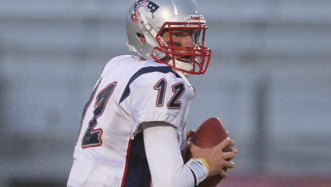 Todd Marinovich in his first game for the SoCal Coyotes.