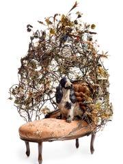 "Nick Cave, ""Rescue,"" 2014, mixed media, including ceramic"