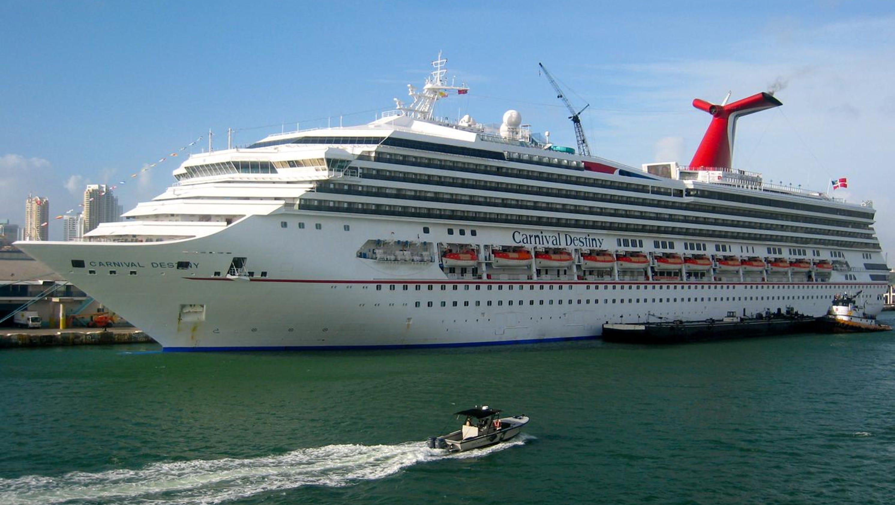 Cruise Ship Tours Carnival Destiny