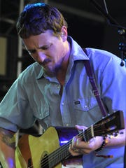 Sturgill Simpson performs at the  Bonnaroo Music and Arts Festival on Saturday June 13, 2015, in Manchester.