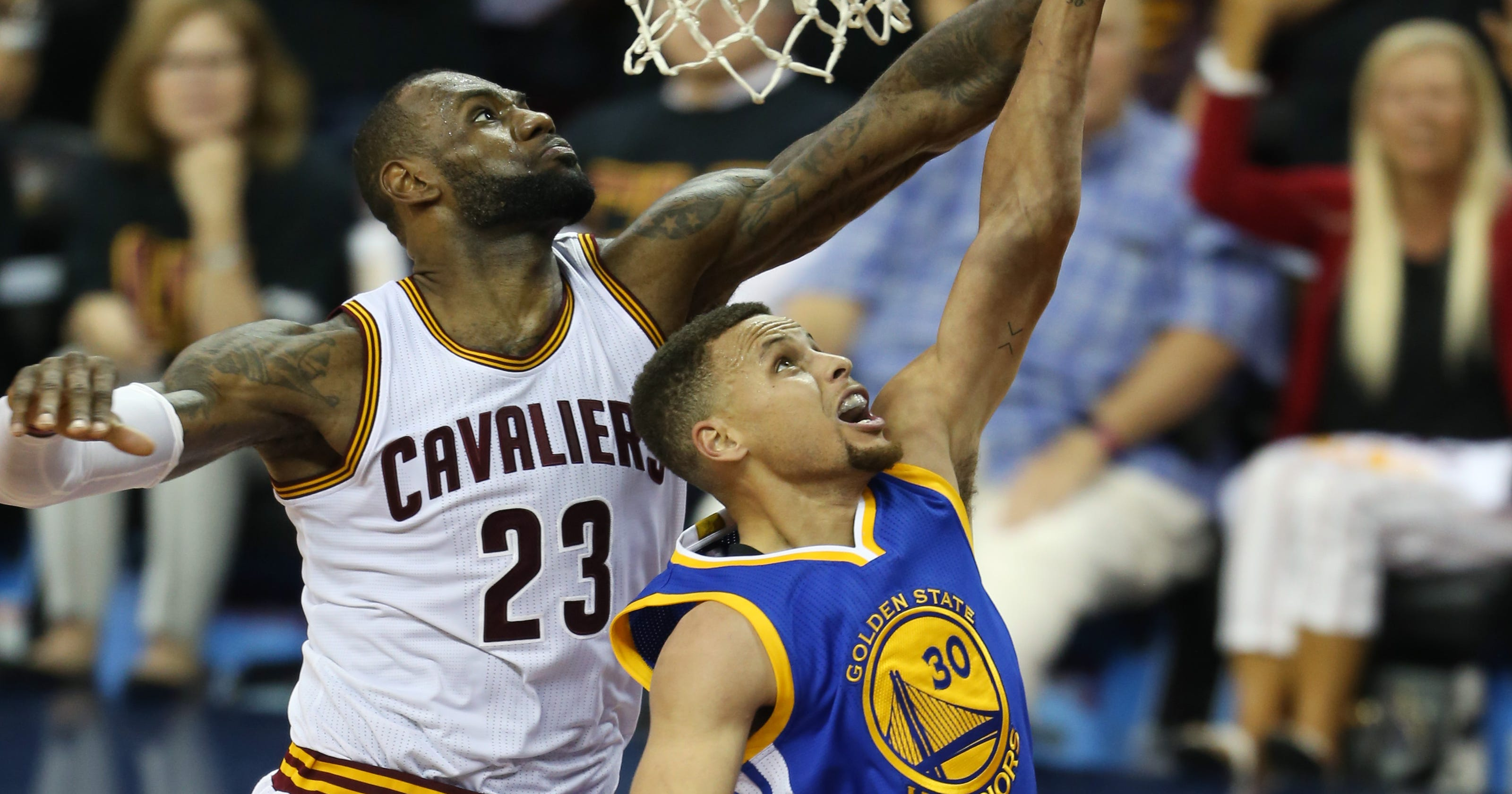 a90e45660 Live reaction from Cleveland s NBA Finals win