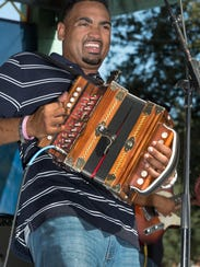 Terry and the Zydeco Bad Boys perform for the weekly