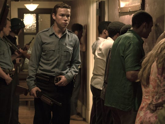 "Will Poulter as Officer Krauss in ""Detroit."""