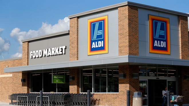 The Aldi in north Springfield at 1645 E. Kearney St.Êhas reopened.
