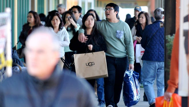 Rising consumer confidence buoyed holiday sales this year.