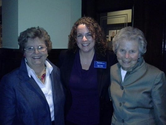 Betty Montgomery, Katherine Fisher and Jo Ann Davidson