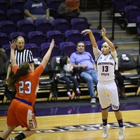 Northwestern State's Janelle Perez has grown on and off the court over the course of her career with the Lady Demons.