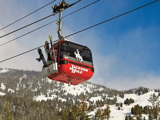 The Jackson Hole Mountain Resort opened for business