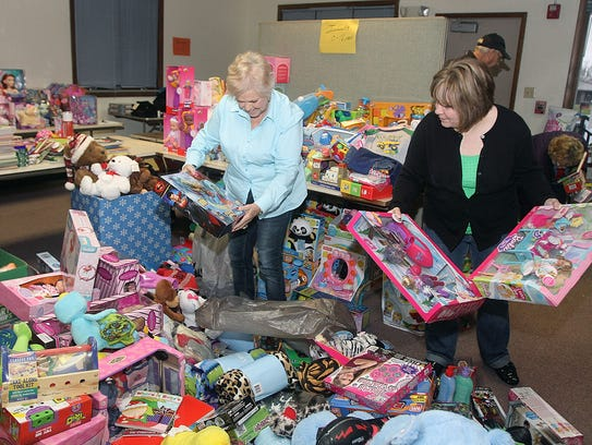 The Junior Service Guild Christmas Clearinghouse project will begin accepting donations on Dec. 4. Rife said close to 1000 Marion County children will be served through the outreach project this year.