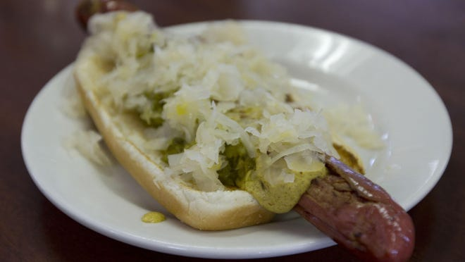 The hot dog that made Max's famous.