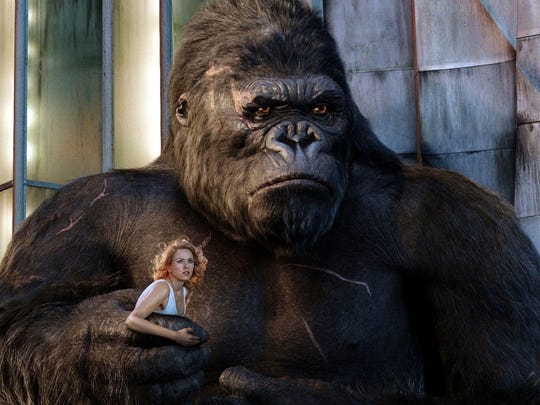 Naomi Watts and her oversized admirer in 1995's 'King Kong.'
