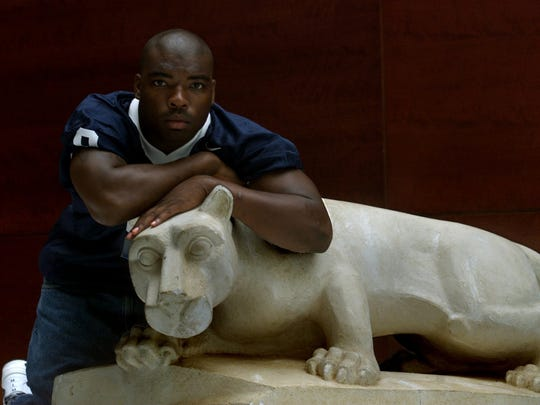 Penn State running back Eric McCoo, a Red Bank native,