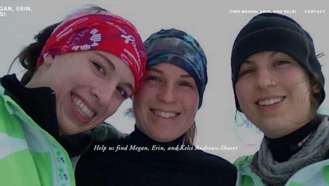 Megan, Erin and Kelsi Andrews-Sharer