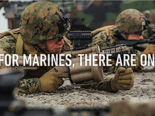 In new recruitment ads Marines shown as good citizens