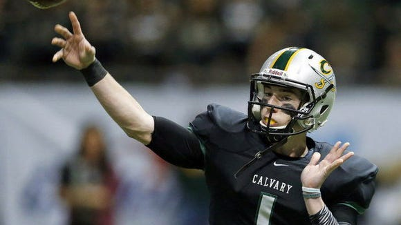 Shea Patterson and Calvary Baptist (La.) will compete