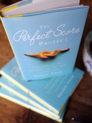 "Author Debbie Stier's new book, ""The Perfect Score Project: Uncovering the Secrets of the SAT""."