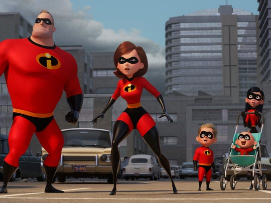 """""""Incredibles 2,"""" hits theaters on June 15."""