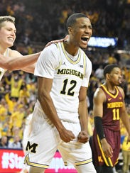 Michigan guard Muhammad-Ali Abdur-Rahkman has come
