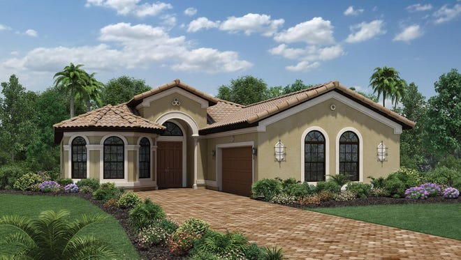 The Salerno Chateau is available for immediate move in at Bonita Lakes.
