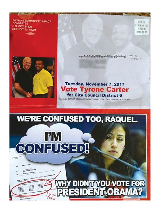 Detroit Community Impact Committee mailer