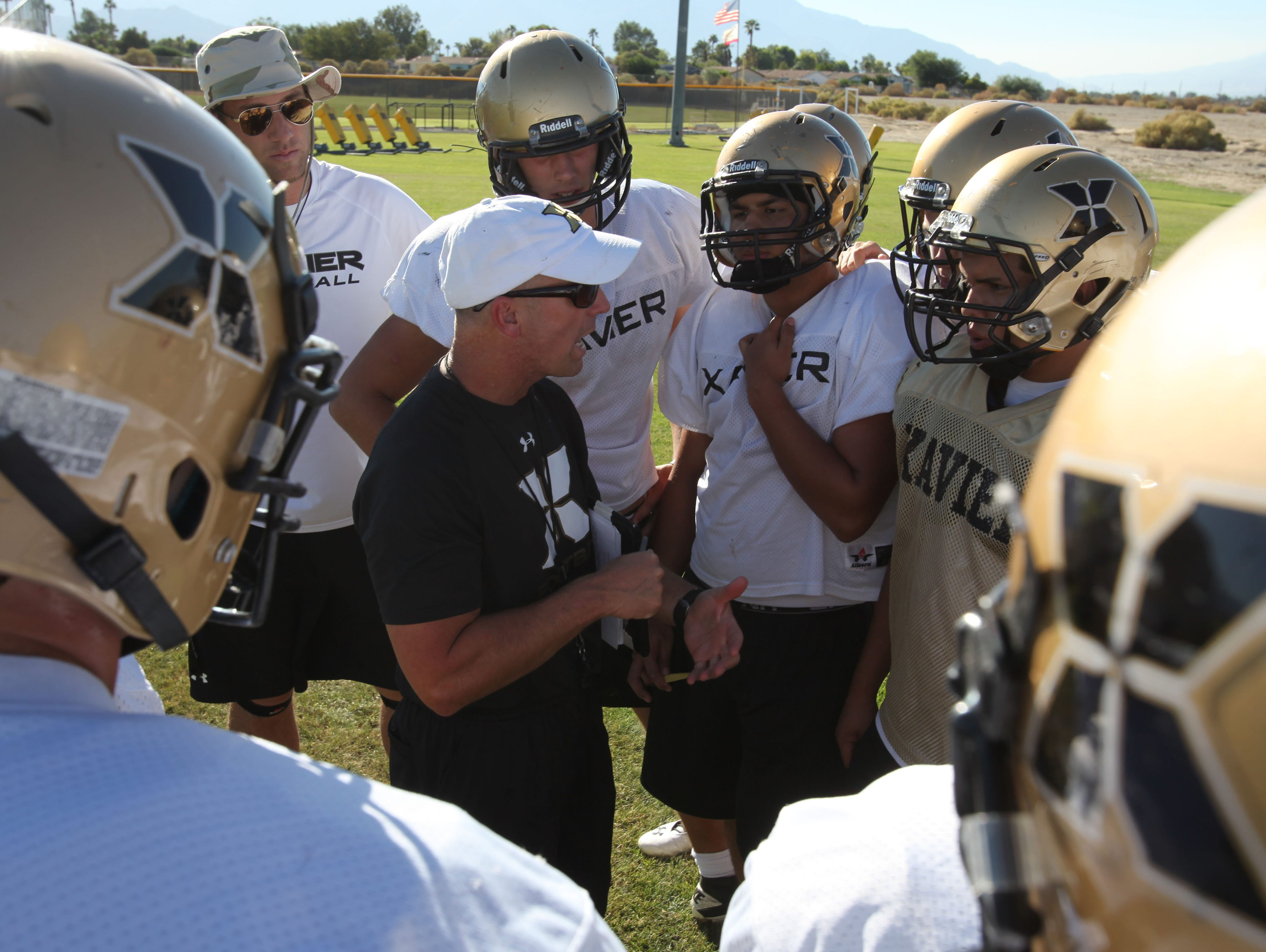 Bob Molyet was hired to be the Xavier Prep head football coach back in 2013, but he's moving on to be an athletic director in Texas.