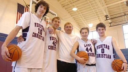 Former Veritas Christian Academy basketball coach John Jordan died over the weekend from pancreatic cancer.