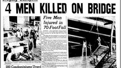 The Portsmouth Herald reported about a tragedy on the Piscataqua River Bridge in June 1970.