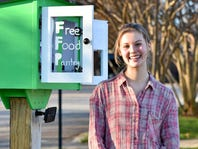 Spartanburg teen creates Little Free Pantry to feed homeless