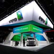 Why were the Saudis at the Detroit auto show? To push green gas