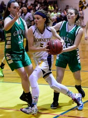 Harpursville graduate Shelby Medovich scored her 1,000th point for Wells College on Friday.