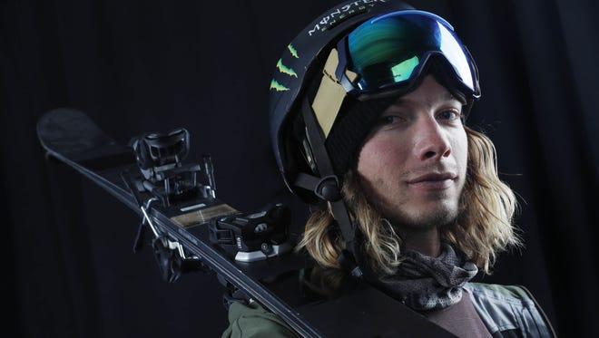 Team USA freestyle skiing hopeful David Wise during the 2018 U.S. Olympic Summit at Grand Summit Hotel in Utah