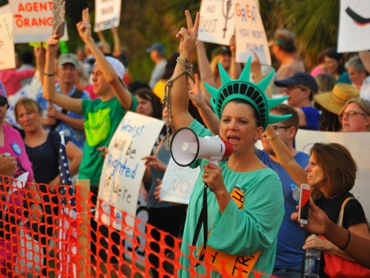 USP NEWS: DONALD TRUMP RALLY A ELN USA FL