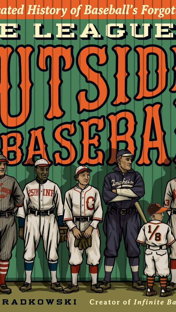 The League of Outsider Baseball is the new book by local author/artist Gary Cieradkowski.
