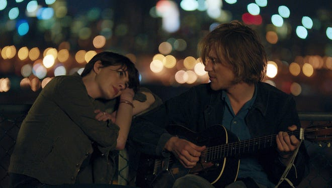 Anne Hathaway, left, and Johnny Flynn in  'Song One,' which will premiere at the Sundance Film Festival.