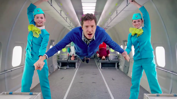 OK Go's new video was filmed entirely in zero gravity, thanks to