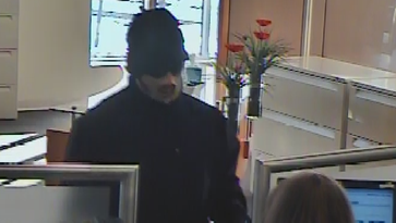 Masked gunman sought in Canton bank robbery