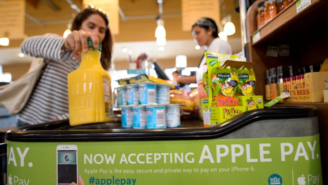 A Whole Foods in El Segundo, Calif.,  accepts Apple Pay.